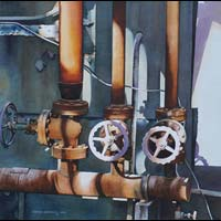 Blast Furnace Hot Valves - Carolyn Latanision