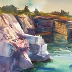 Quarry Ledge by Marilyn Swift